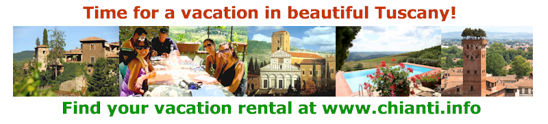 Vacation rentals in Chianti Tuscany